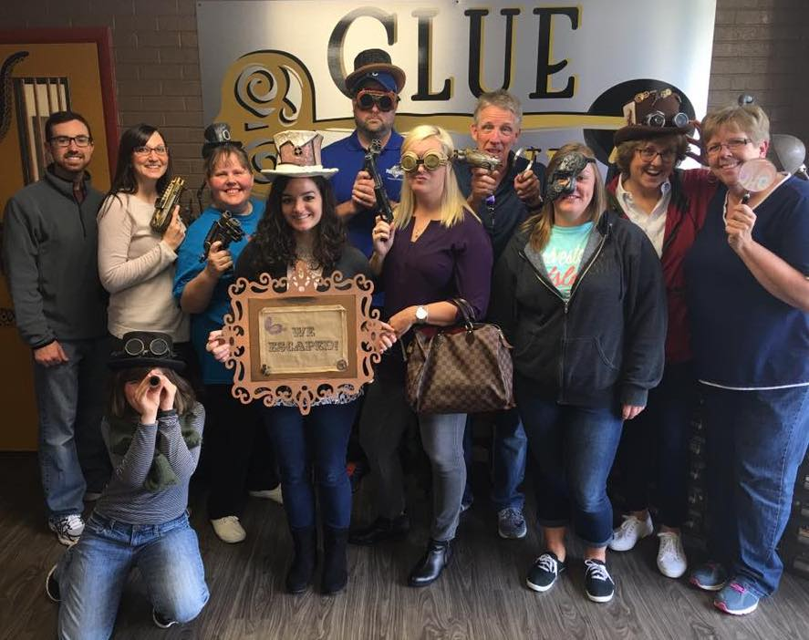 Staff Outing to Clue Pursuit