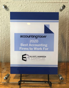 2020 Accounting Today's Best Accounting Firms to Work For