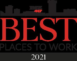 2021 Biz 417's Best Places to Work
